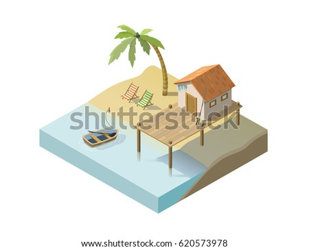 vector isometric illustration