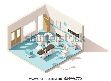 Narkose images for X ray room floor plan