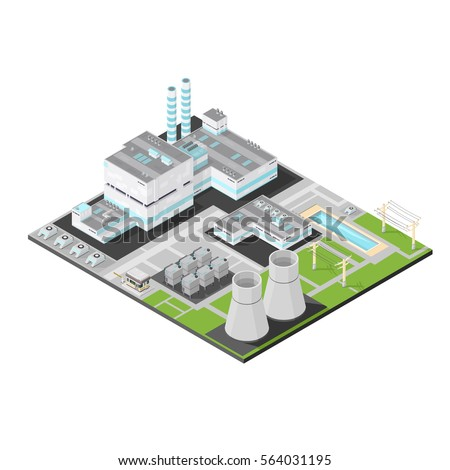 vector isometric nuclear power