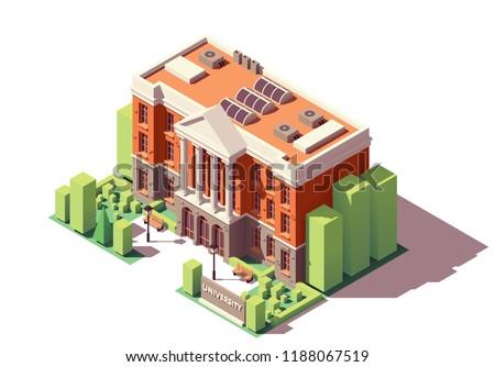 vector isometric old university