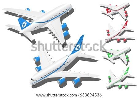 vector isometric passenger