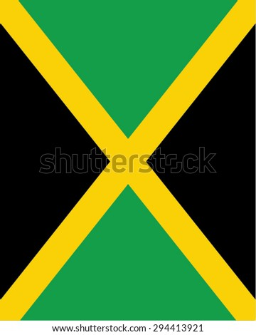 vector jamaican flag backdrop