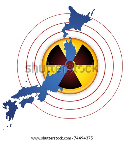 Vector - Japan Earthquake, Tsunami and Nuclear Disaster 2011