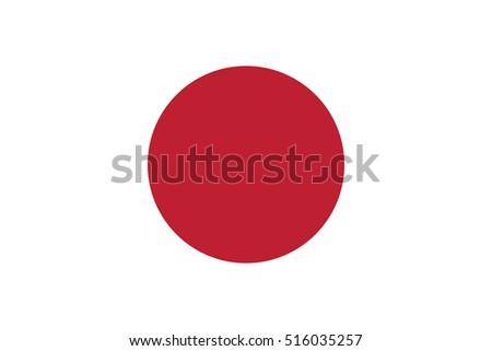 vector japan flag  japan flag