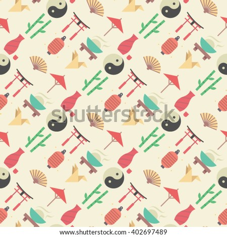 vector japan seamless pattern