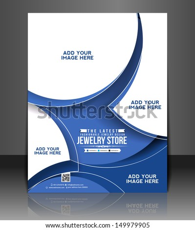 Vector Jewelry Store Flyer & Poster Cover