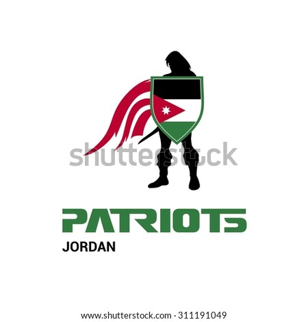 vector jordan flag patriots