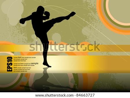 vector karate
