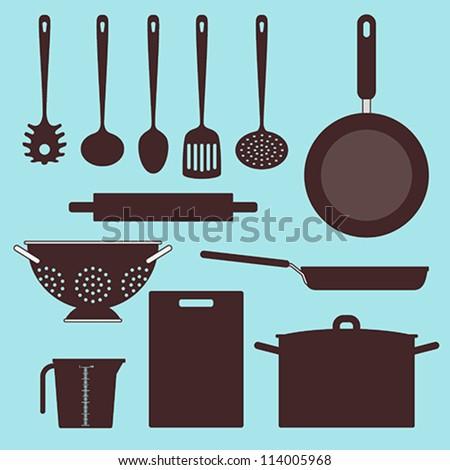 Vector kitchen Utensils