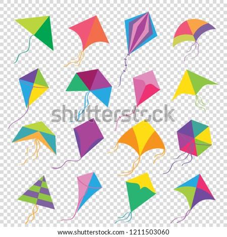 Vector kite Makar Sankranti background texture template card ストックフォト ©