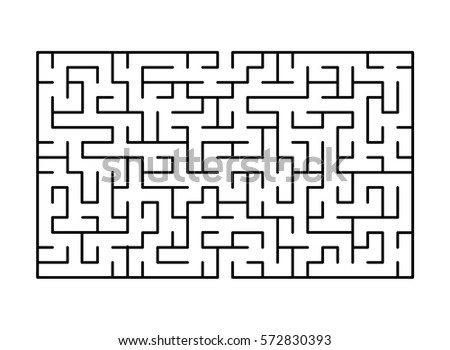 Vector labyrinth 78. Maze / Labyrinth with entry and exit.