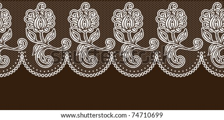vector lace elements
