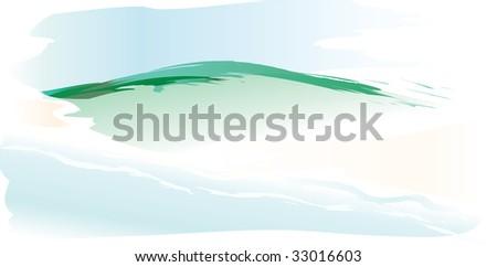 vector landscape like
