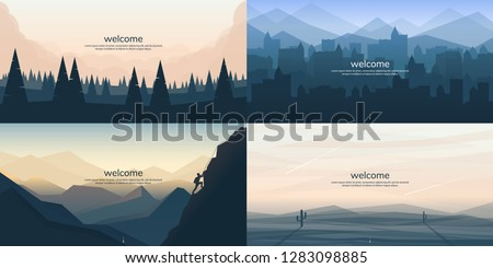 vector landscapes in a