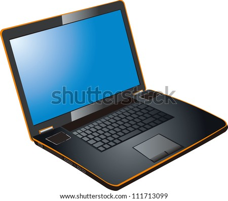 Vector - laptop