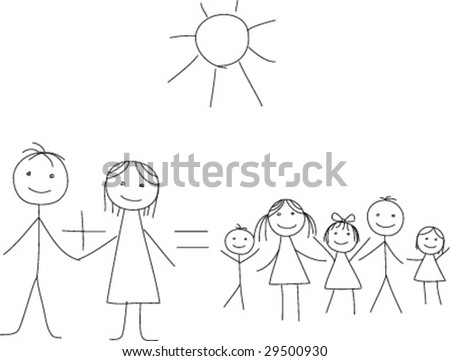 Vector large family