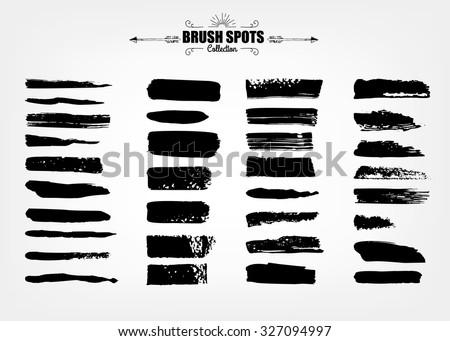 vector large set hand drawn