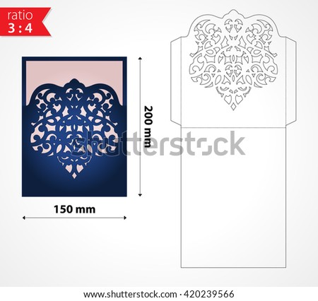 laser cut envelopes download free vector art stock graphics images