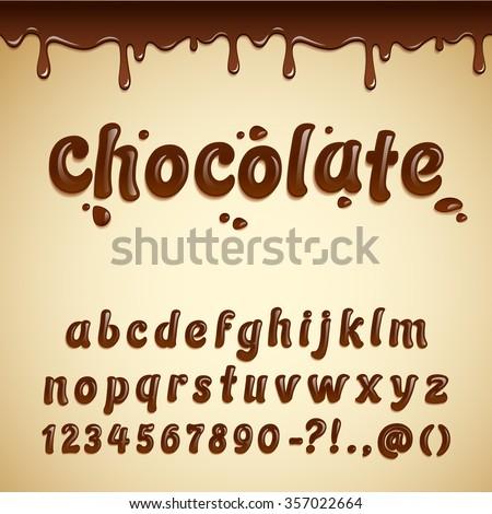 vector latin alphabet made of
