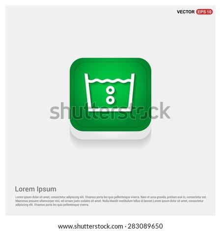 vector laundry symbols 40 c or