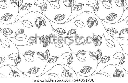 Vector - Leaf pattern
