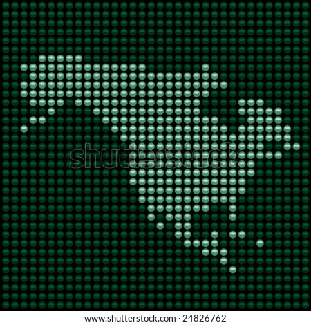 Vector LED panel - north america
