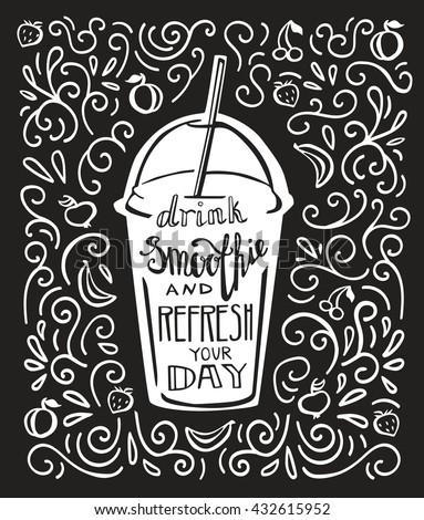 vector lettering illustration