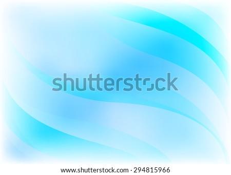 vector light blue abstract