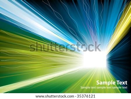vector light burst