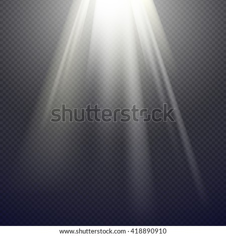 Vector Light Effect Spotlight