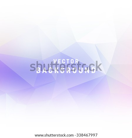 stock-vector-vector-light-purple-abstract-polygonal-background-smooth-edges-on-white