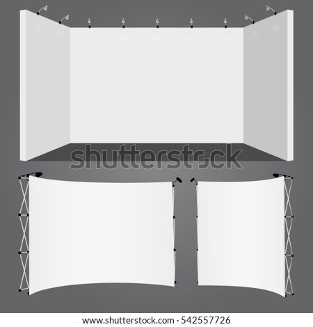 Royalty Free Stock Photos and Images: Vector lighted plasterboard