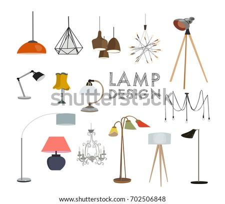 vector lighting lamp