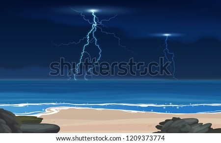 vector lightning and