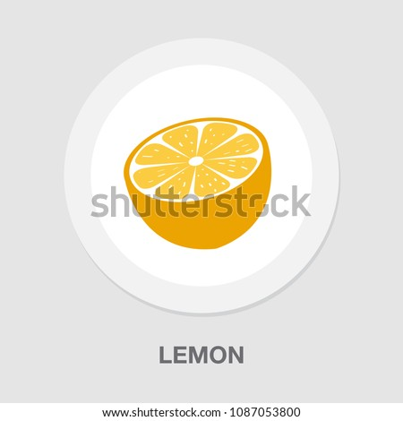 vector lime - orange or lemon? healthy fresh fruit isolated.