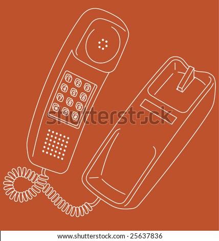 stock-vector-vector-line-art-illustration-of-a-retro-corded-telephone-25637836.jpg