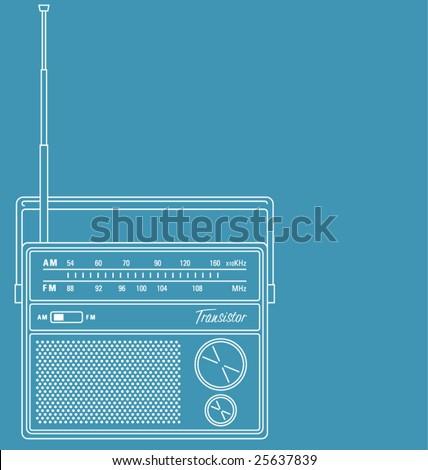 stock-vector-vector-line-art-illustration-of-a-retro-transistor-radio-with-copy-space-25637839.jpg