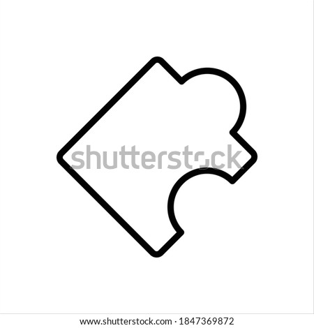 Vector line icon for misc Stock foto ©