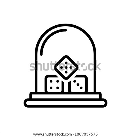 Vector line icon for sic Foto stock ©