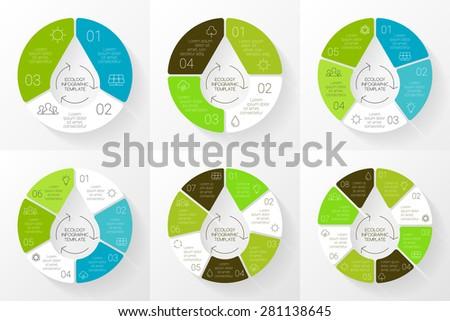 vector linear circle eco