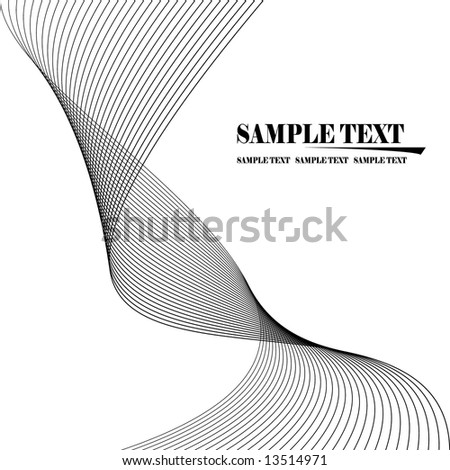 Vector Lines Abstract Background