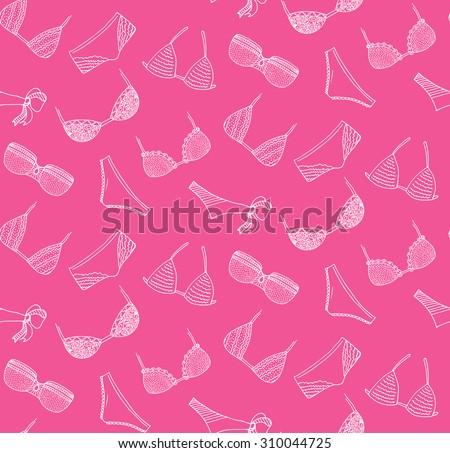 vector lingerie seamless