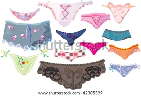 vector lingerie set