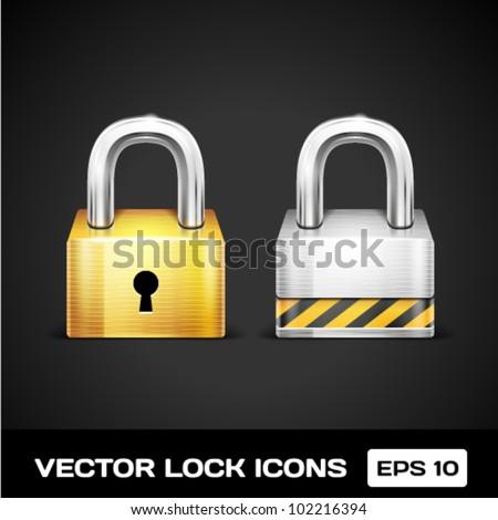 Vector Lock Icons