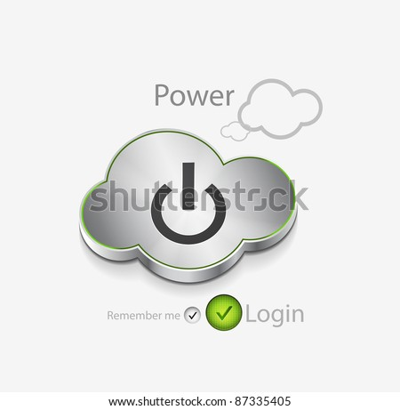 vector login background with