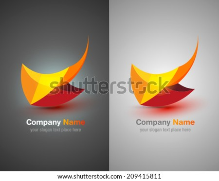 vector logo abstract icon