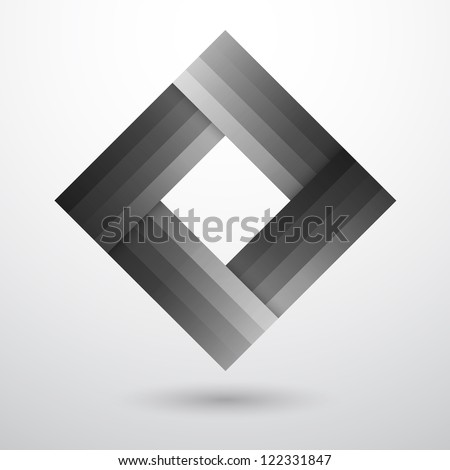 Vector Logo, abstract shape. Business logo, business symbol