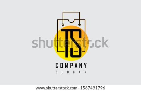 Vector Logo 2d design illustration