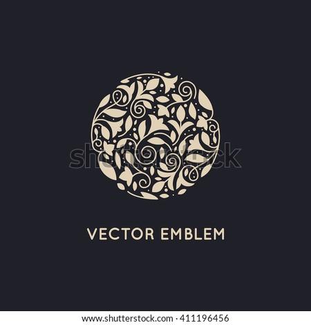vector logo design template and