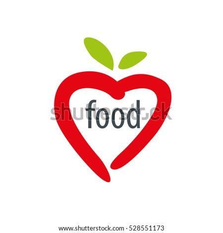 Vector logo food